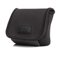 USA GEAR FlexARMOR CompactDigital Camera Case with Belt Holster , Scratch-Resistant Interior & Velcro Enclosure - Black