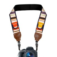 USA GEAR TrueSHOT CAM-STRAP Stripes