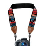 TrueSHOT Camera Neck Strap with Accessory Storage Pockets & Underarm Support