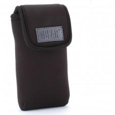 USA GEAR FlexARMOR D50 Neoprene Device Case with Carabiner Clip & Belt Loop – Black