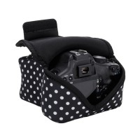 USA GEAR DSLR Camera Sleeve Case with DuraNeoprene Technology , Accessory Storage & Strap Openings