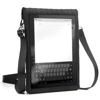 USA GEAR Neoprene Tablet Sleeve Carrying Case with Touch Capacitive Screen Protector , Adjustable Shouler / Display Strap & Accessory Pocket