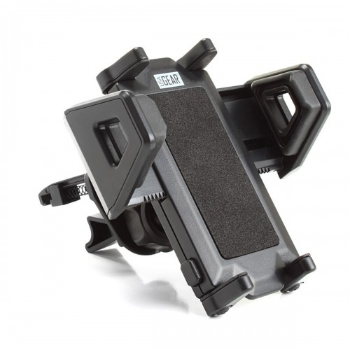 Universal AC Air Vent Mount Holder with Rotating Display & Adjustable Clamps-Black