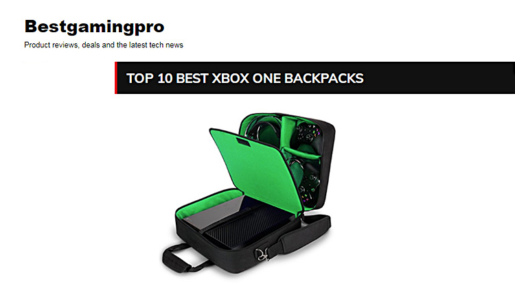 TOP 10 BEST XBOX ONE BACKPACKS