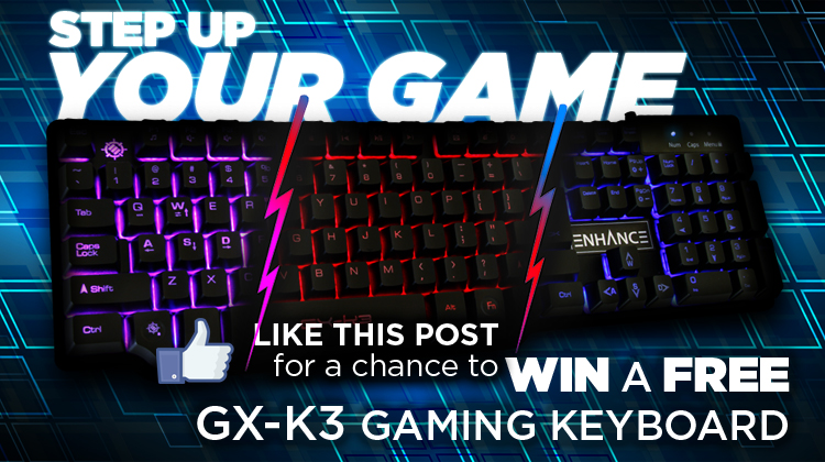 Accessory  Power Announces Facebook April Fools' Day Contest for Free Gaming Keyboard