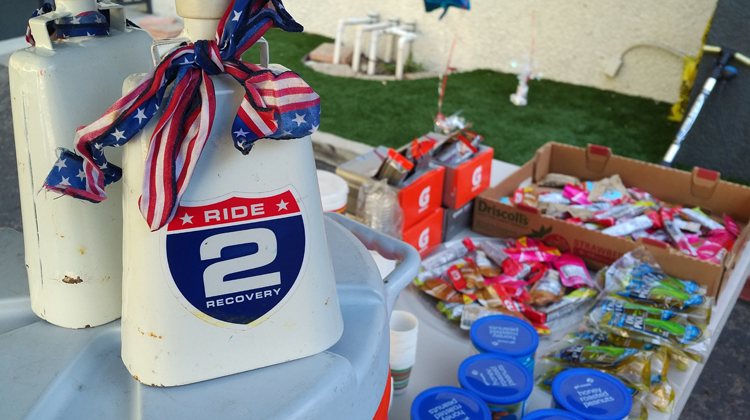 Ride2Recovery gets refreshment boost from Accessory Power volunteers