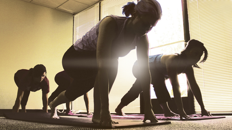 We Keep Our Office Moving: Yoga in the Workplace