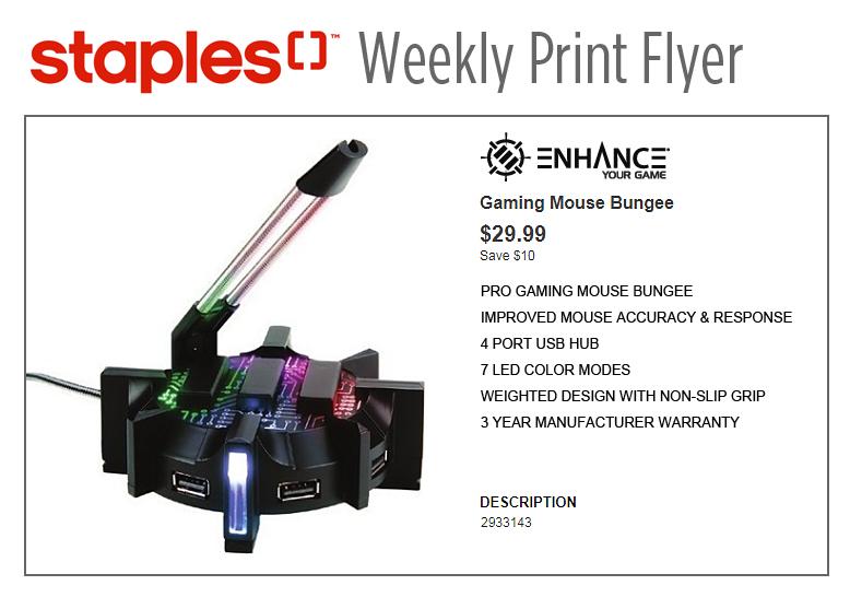 Staples Weekly Print Flyer