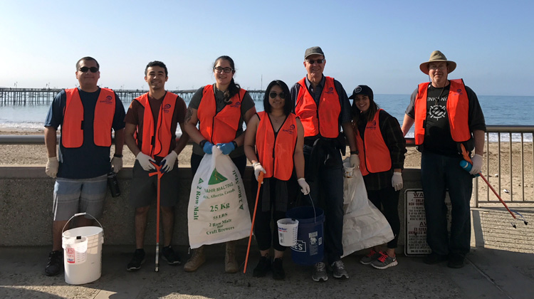 Accessory Power sends Volunteers to Coastal Cleanup Day