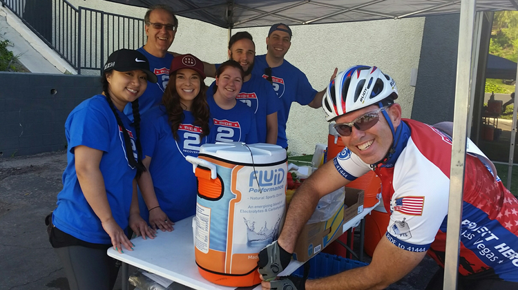 ride2recovery booth