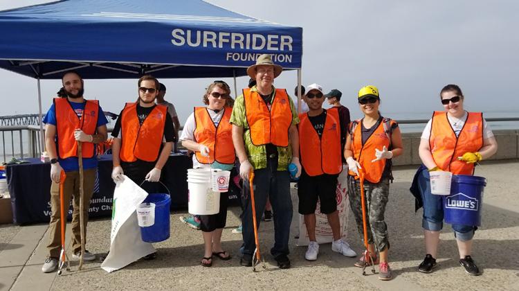 AP Volunteers Help Save the Environment!