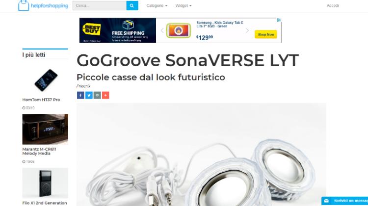 GOGROOVE SONAVERSE  LYT - HELPFORSHOPPING