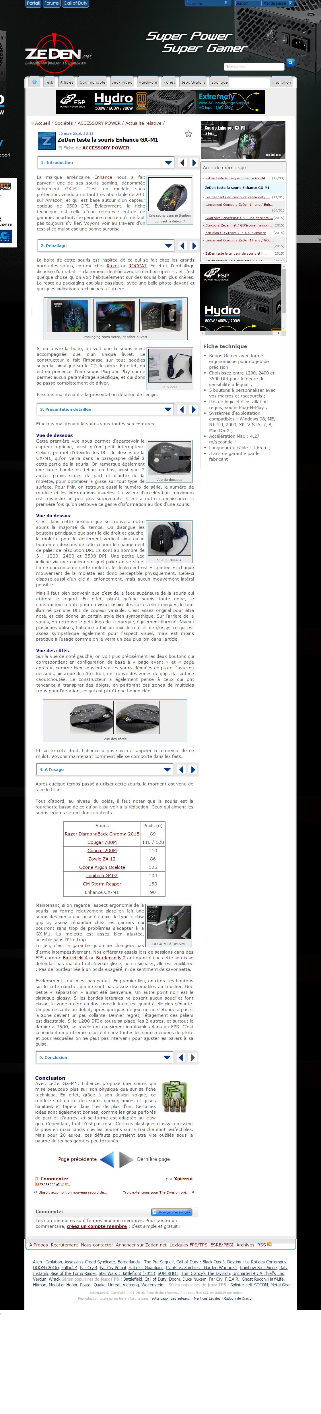 zeden.net review of enhance gx-m1