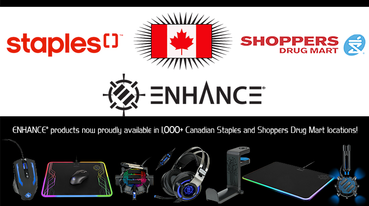 Accessory Power's ENHANCE brand is Growing! New Canada Locations