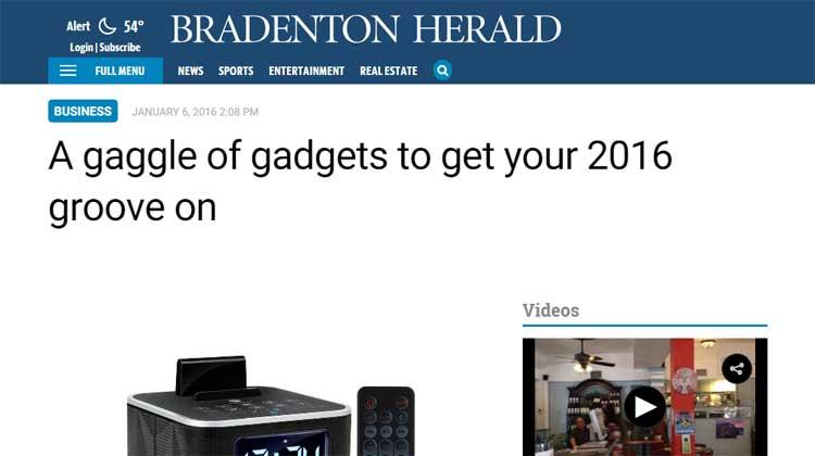 Bradenton Herald - BlueSYNC RST mention