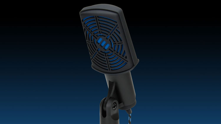 Accessory Power Showcases the ENHANCE USB Condenser Microphone at CES