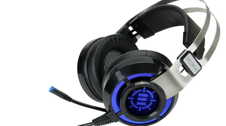 Accessory Power Debuts the ENHANCE SCORIA 7.1 Virtual Surround Sound Gaming Headset with Adjustable Vibration at CES