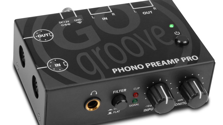 Accessory Power Announces Gogroove® Phono Preamp and Phono Preamp Pro as Turntables and Vinyl Make a Huge Comeback