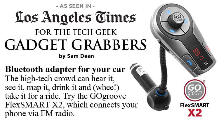 GOgroove X2 For the tech geek gadget grabbers - Los Angeles Times
