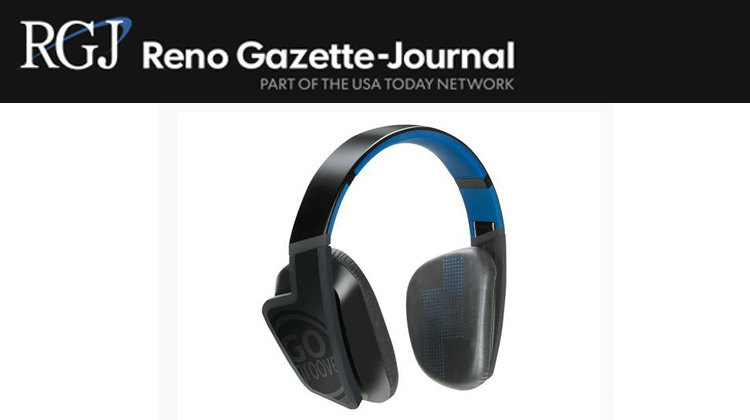 Reno Gazette-Journal features the GOgroove BlueVIBE FXT