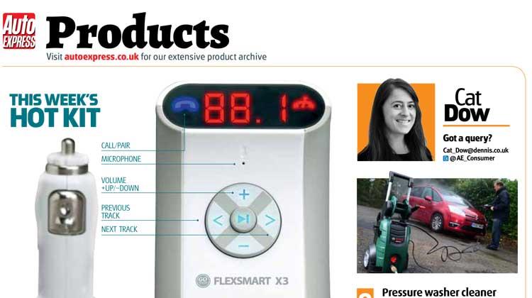 Auto Express Article GOgroove FlexSMART X3 Bluetooth Transmitter