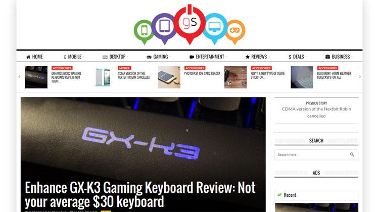 Gadgtspot.com Enhance GX-K3 Gaming Keyboard Review