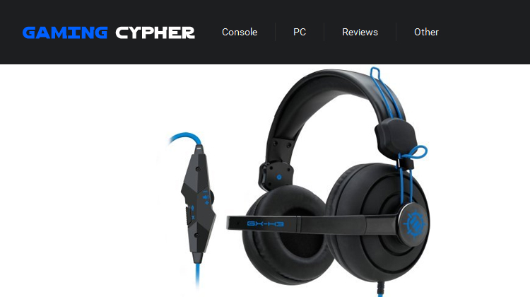 GamingCypher reviews Enhance GX-H3 PC Gaming Headset