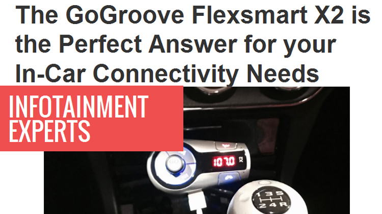Infotainment Experts' James Hamel reviews the GOgroove FlexSMART X2