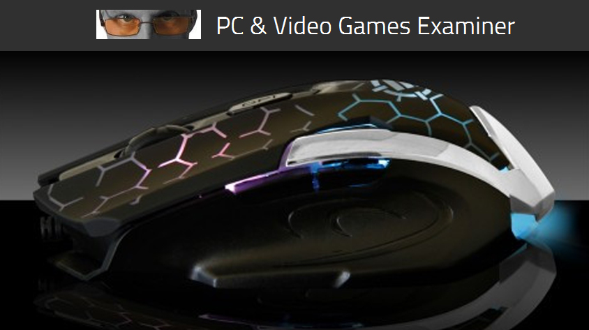 PC Game Examiner reviews the ENHANCE GX-M4 Gaming Mouse