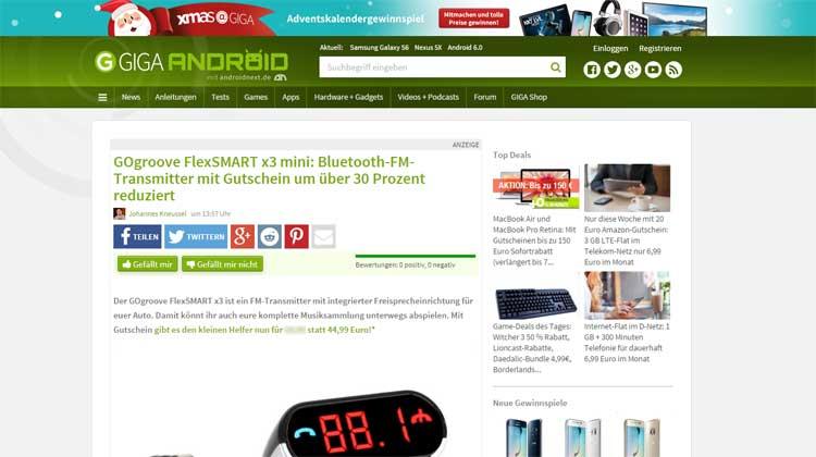 Giga.de GOgroove FlexSMART X3 Mini Review