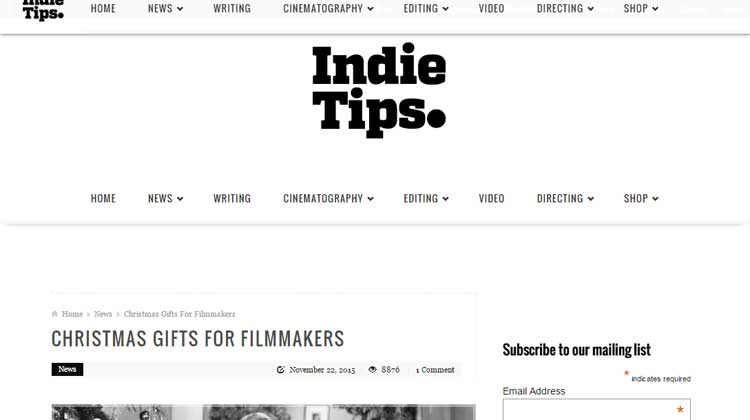 Indie Tips USA GEAR Backpack for Digital SLRs