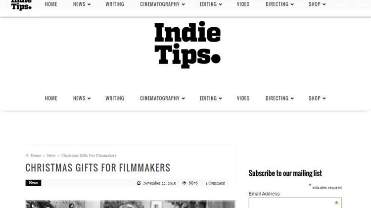 Indie Tips USA GEAR Backpack for Digital SLRs