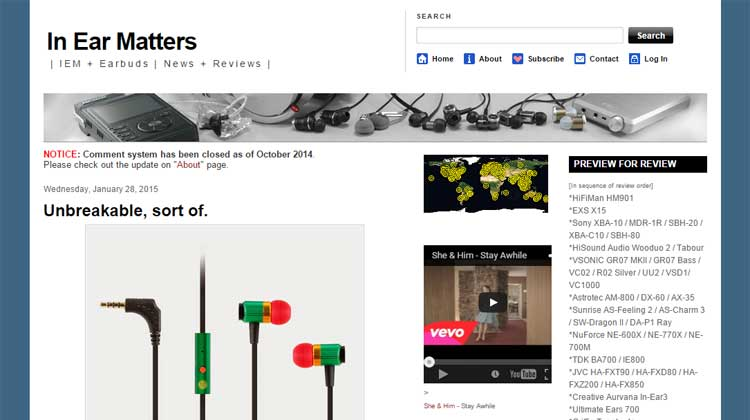 In Ear Matters GOgroove AudioHM RNF Review