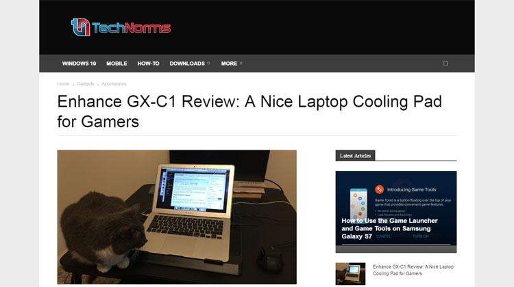 TechNorms takes on ENHANCE GX-C1