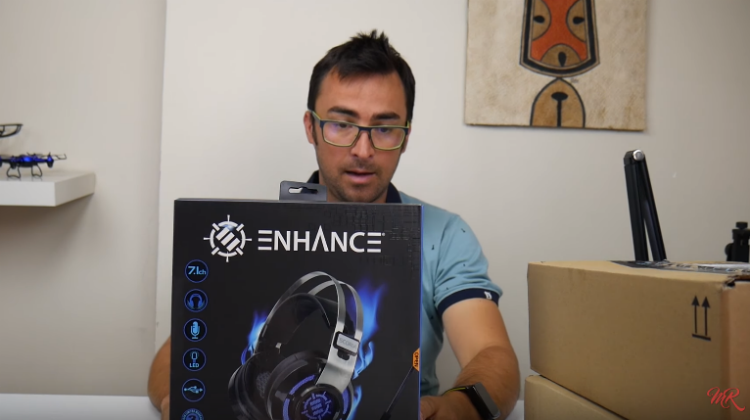 ENHANCE SCORIA Gaming Headset from Marcos Reviews