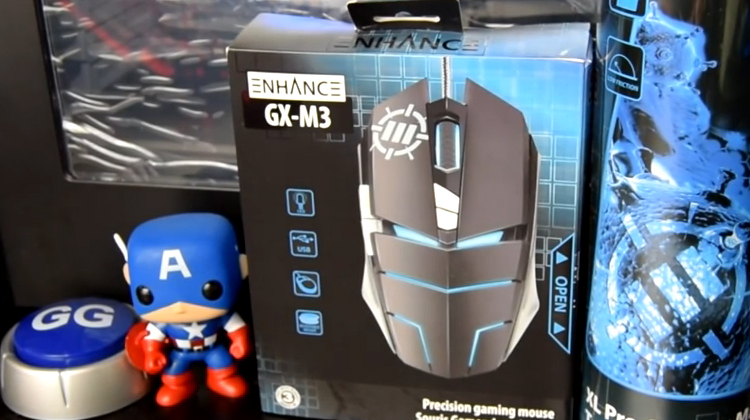 Twoshotsgaming reviews the Enhance GX-M3 mouse and GX-MP2 mouse pad