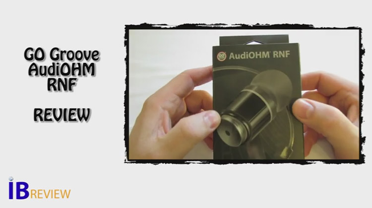 IB Review -  GOGroove AudiOHM RNF headphones