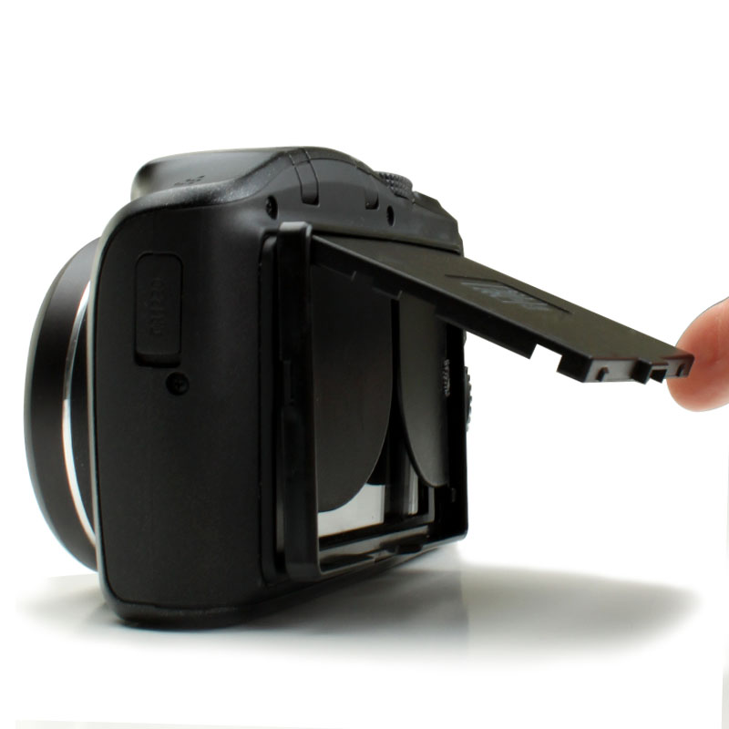 Camera Screen Hood : Enhance lcd hood sun shade and hard screen protector for