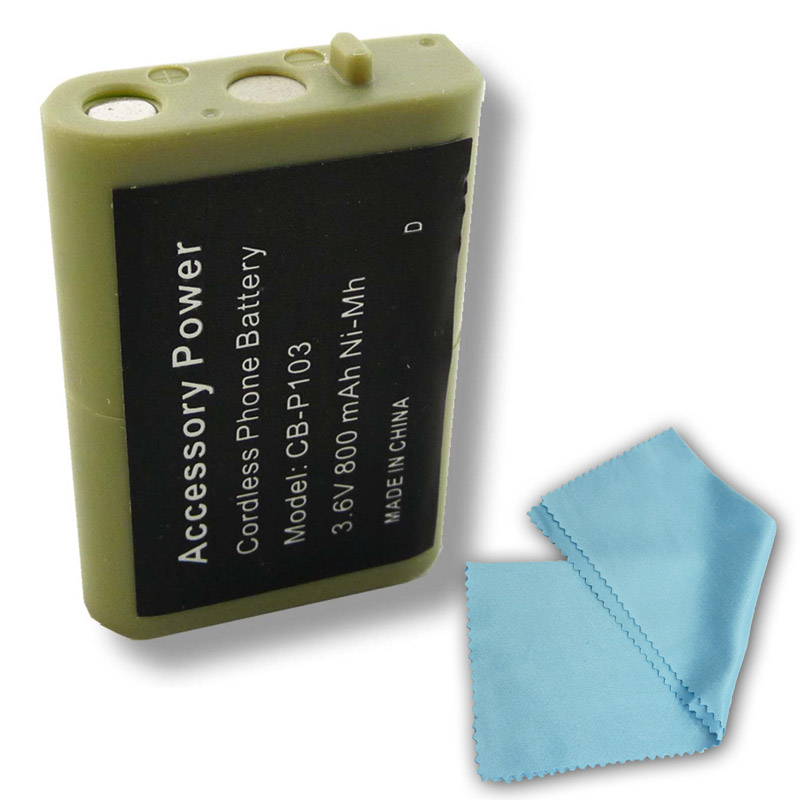 Accessory Genie Radio Shack 23-966 Equivalent Replacement truCELL Battery for 43-110 / 43-9015 / 43-9018 and More Radio Shack Cordless Phones at Sears.com