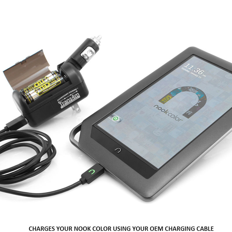 Will Only Charge Nook Color Using Your Oem Charging Cable