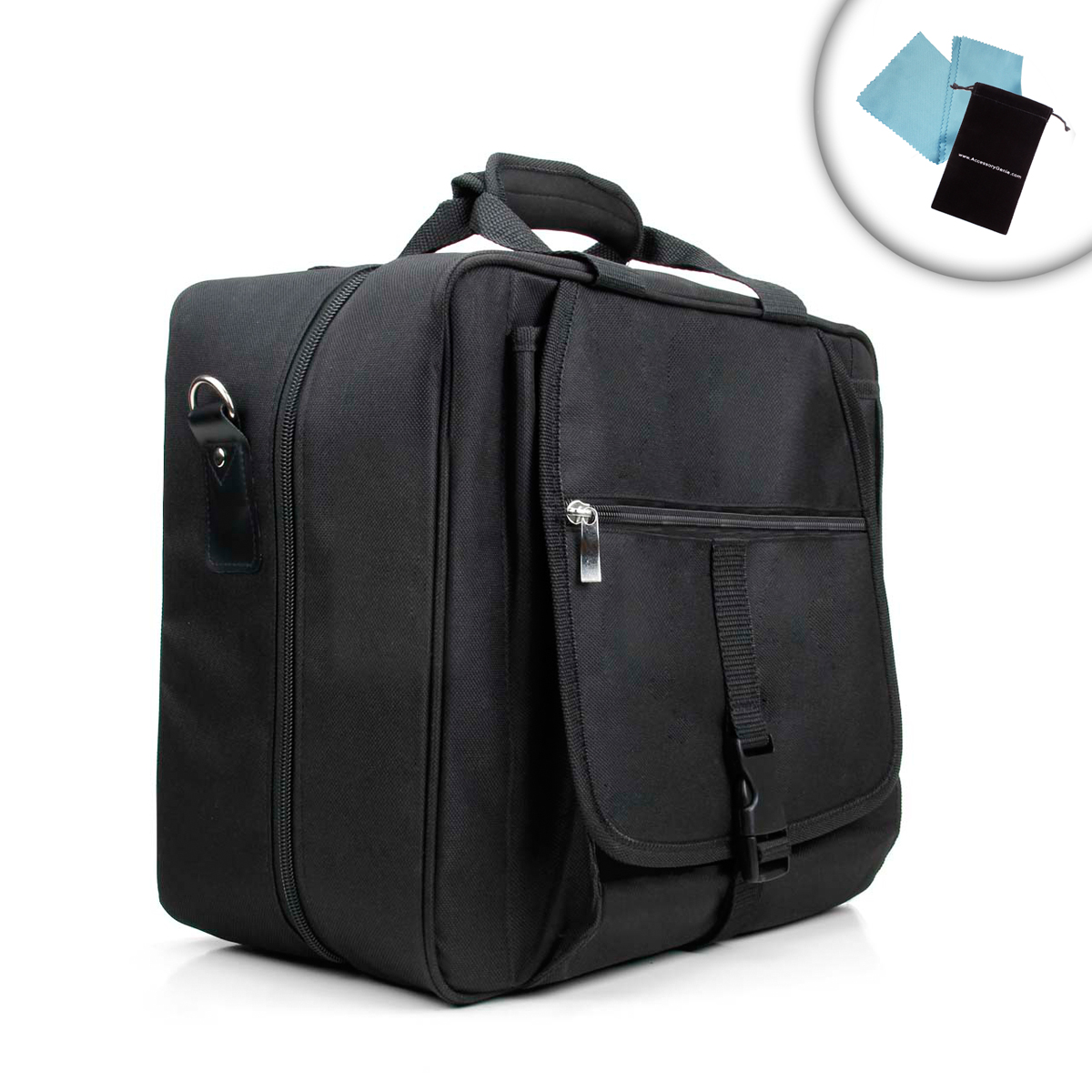 Xbox One Travel Carrying Case with Kinect Carrying Pouch ...