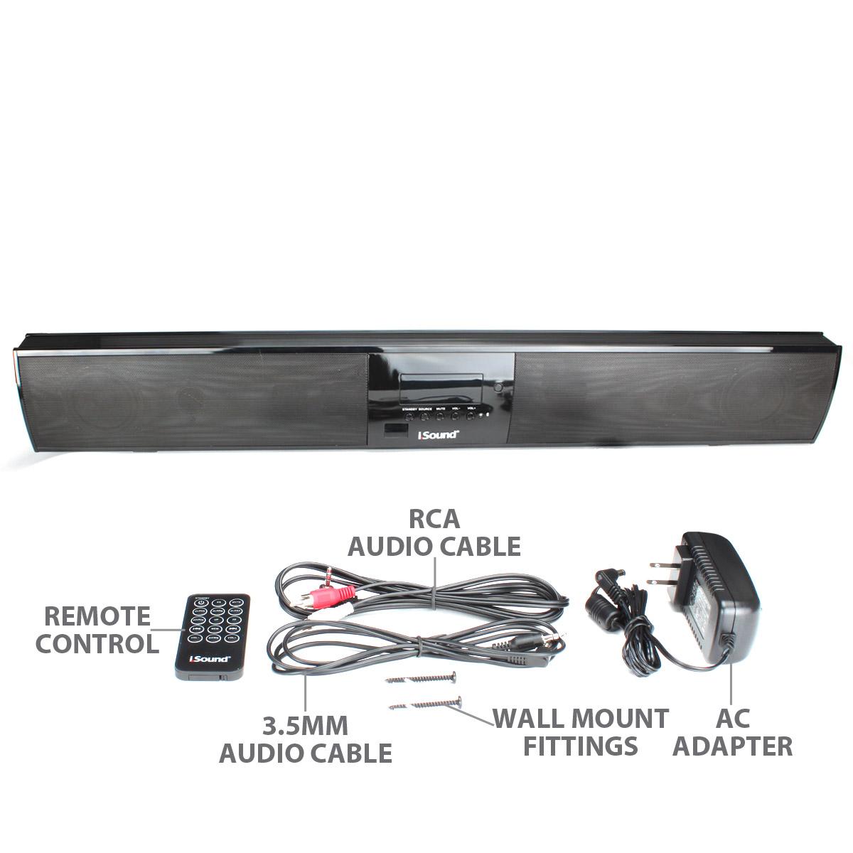 High Fidelity Ultraslim Bluetooth Wireless Tv Sound Bar