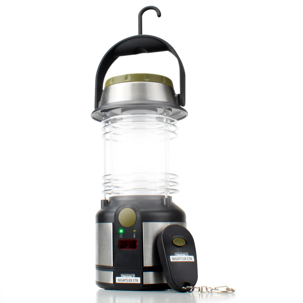 battery powered lantern w remote control 12 led lights. Black Bedroom Furniture Sets. Home Design Ideas
