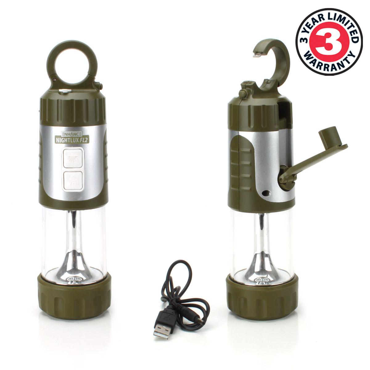 3 PACK Portable Hanging Lantern Lamp & LED Flashlight ...