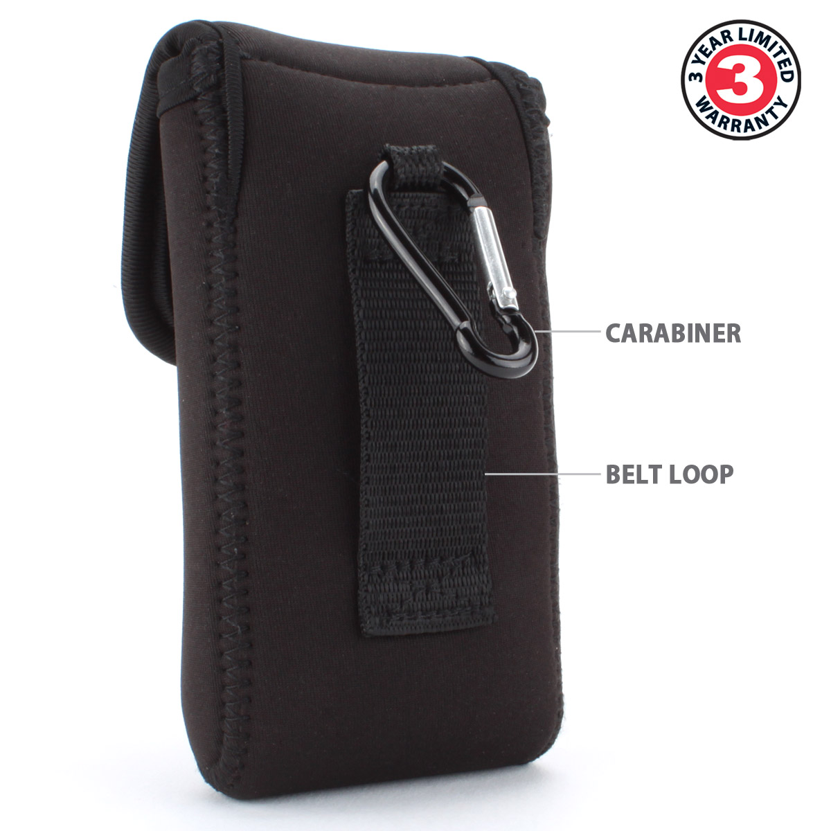 Usa Gear Neoprene Safety Pouch Case For Sunglasses And