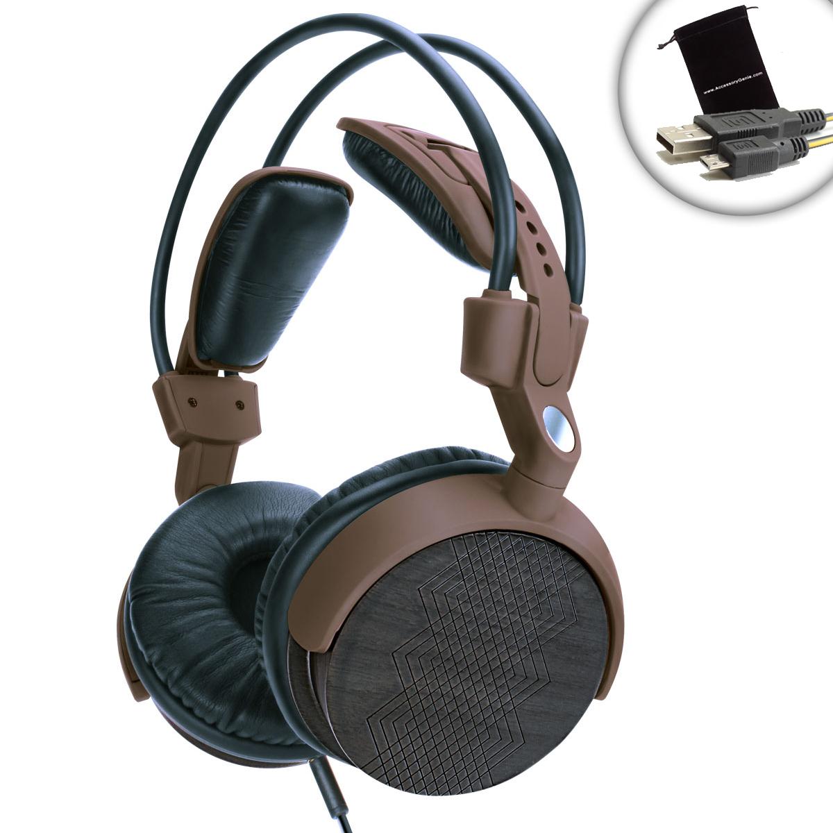 Audiolux Wdx Adjustable Over Ear Headphones By Gogroove