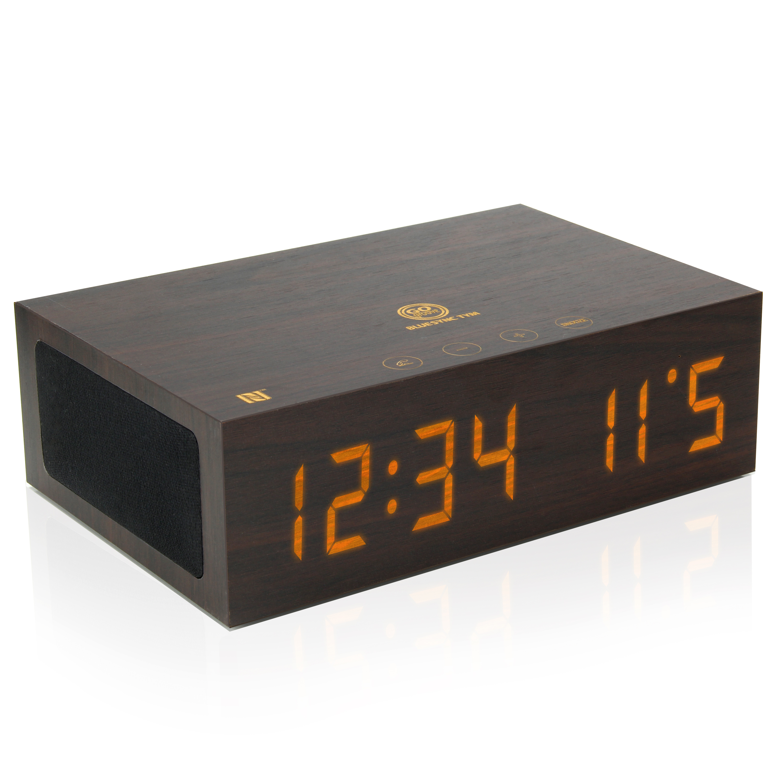 Amazon.com: wireless speaker alarm clock