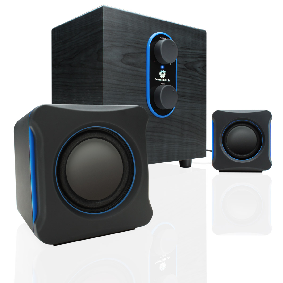 how to connect powered speakers to laptop