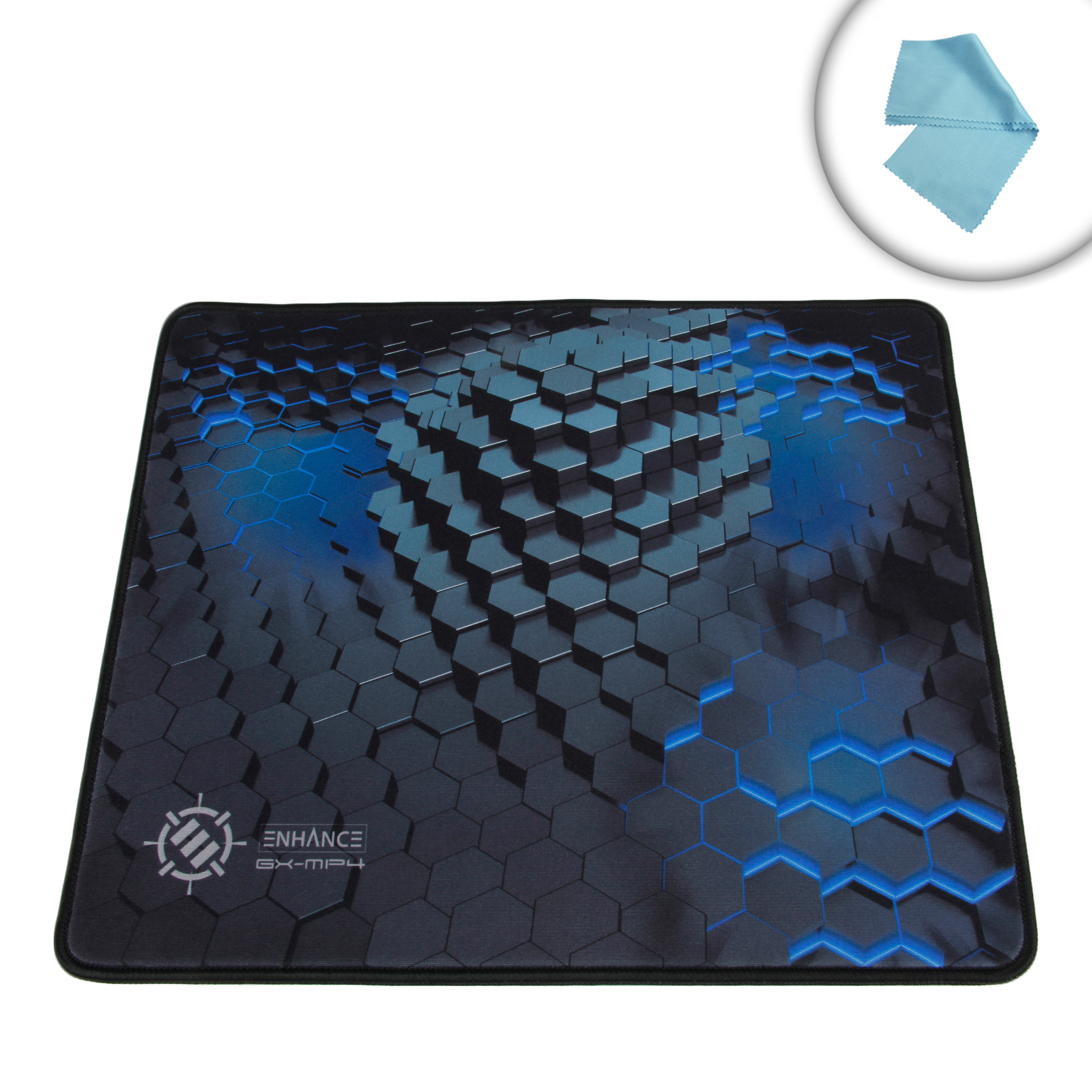 Mouse Pad With Premium Low Friction Tracking Surface Non Slip