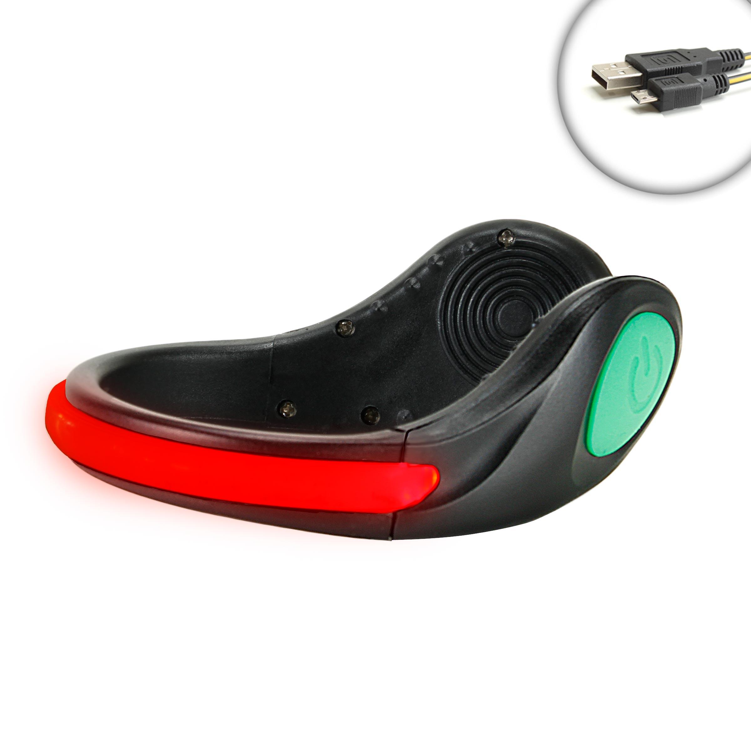 Enhance Portable High Visibility Flashing Led Ankle Shoe